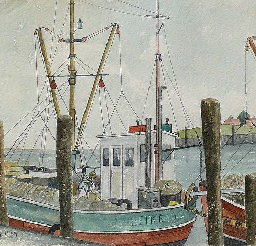 Hafenszene 1969